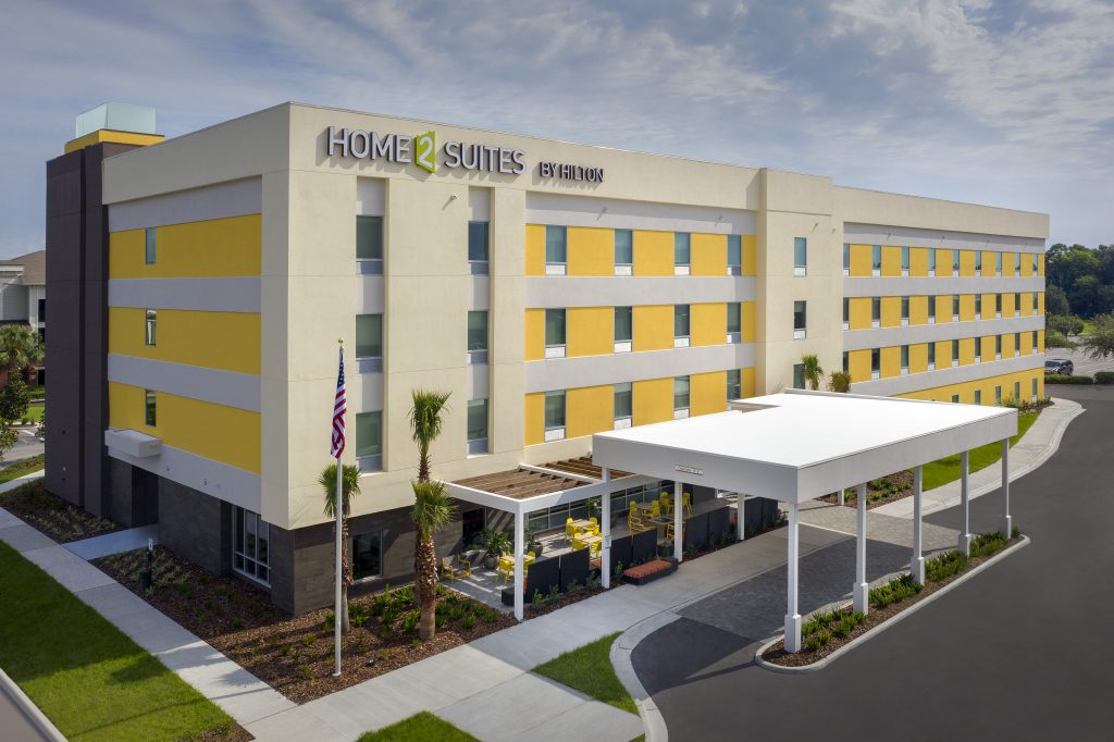 Exterior Drone photo of Home2 Suites by Hilton Lakeland FL