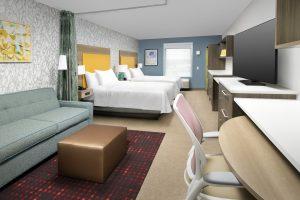 Home2 Suites by Marriott Longmont CO Double Queen guest room