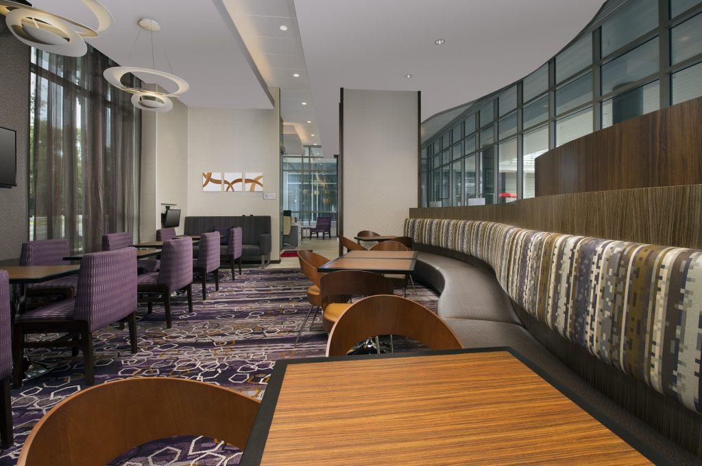 Hampton Inn Noma Washington DC lobby seating