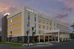 Home2 Suites by Hilton Lakeland FL Exterior Dusk