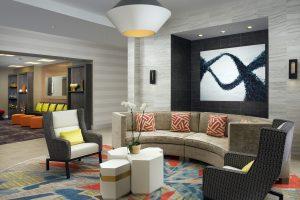 Homewood Suites Miami FL Lobby seating