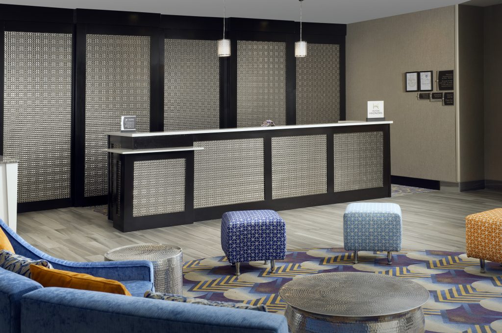 Homewood Suites Metairie LA Front desk