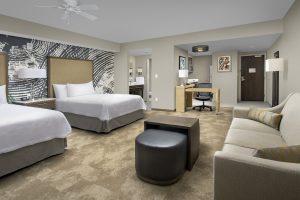 Homewood Suites Austin Texas Double Queen guest room