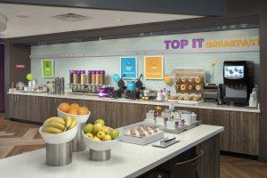 Tru by Hilton Lubbock TX Breakfast
