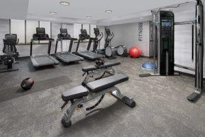 Fairfield Inn and Suites Alexandria VA Fitness room