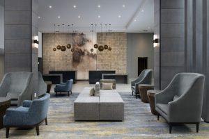Delta Hotels by Marriott Everett Washington Lobby seating