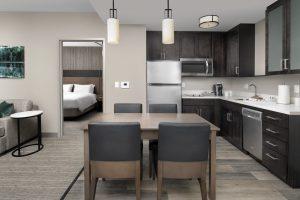 Residence Inn Denver CO One bedroom kitchen