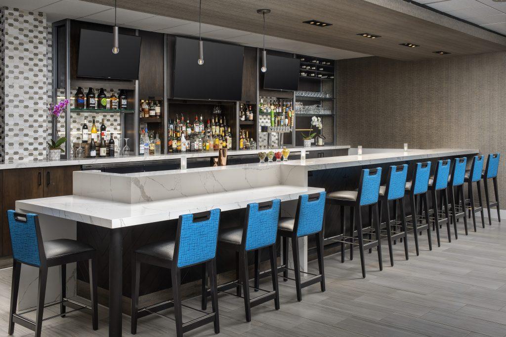 Hilton Garden Inn Yakima WA bar
