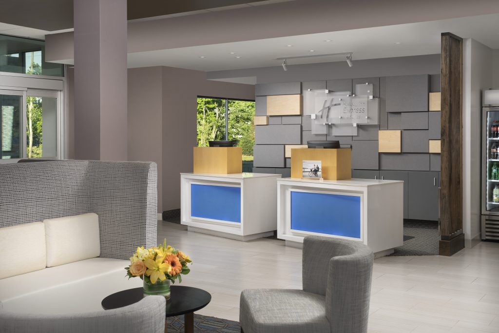 Holiday Inn Express New Brunswick NJ front desk