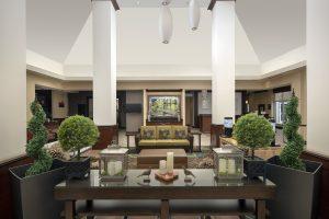 Hilton Garden Inn Odessa TX lobby