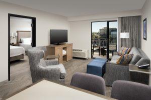 Hampton Inn and Suites Garden Grove, CA Double Queen 1 bedroom guest room