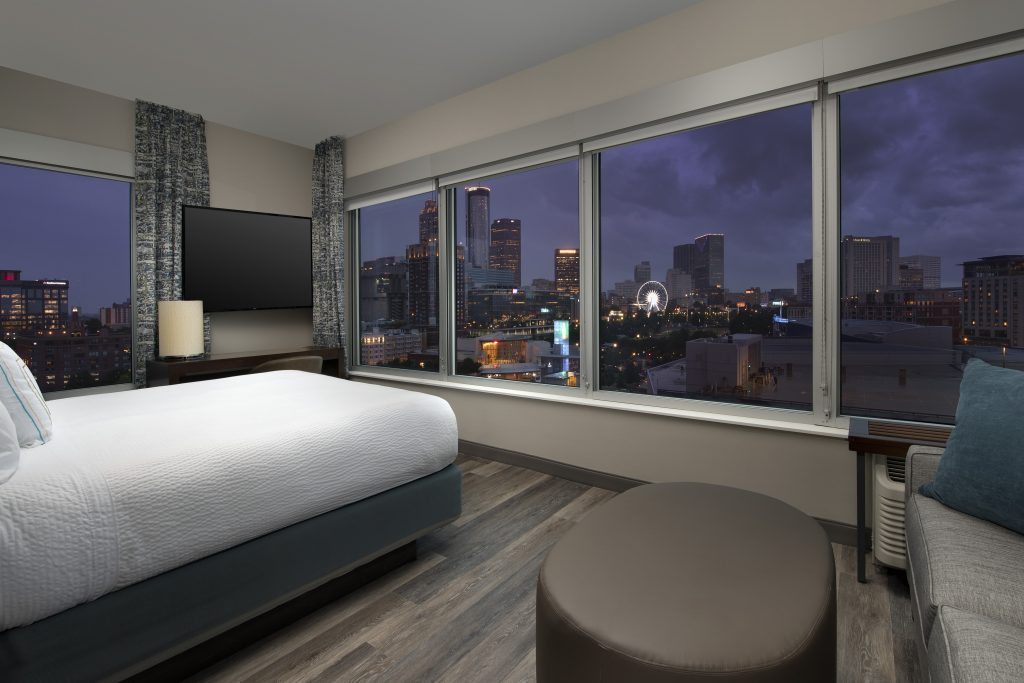 SpringHill Suites by Marriott Atlanta Georgia Corner King Suite with view