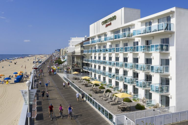 Exterior Drone photo of Courtyard by Marriott Ocean City MD