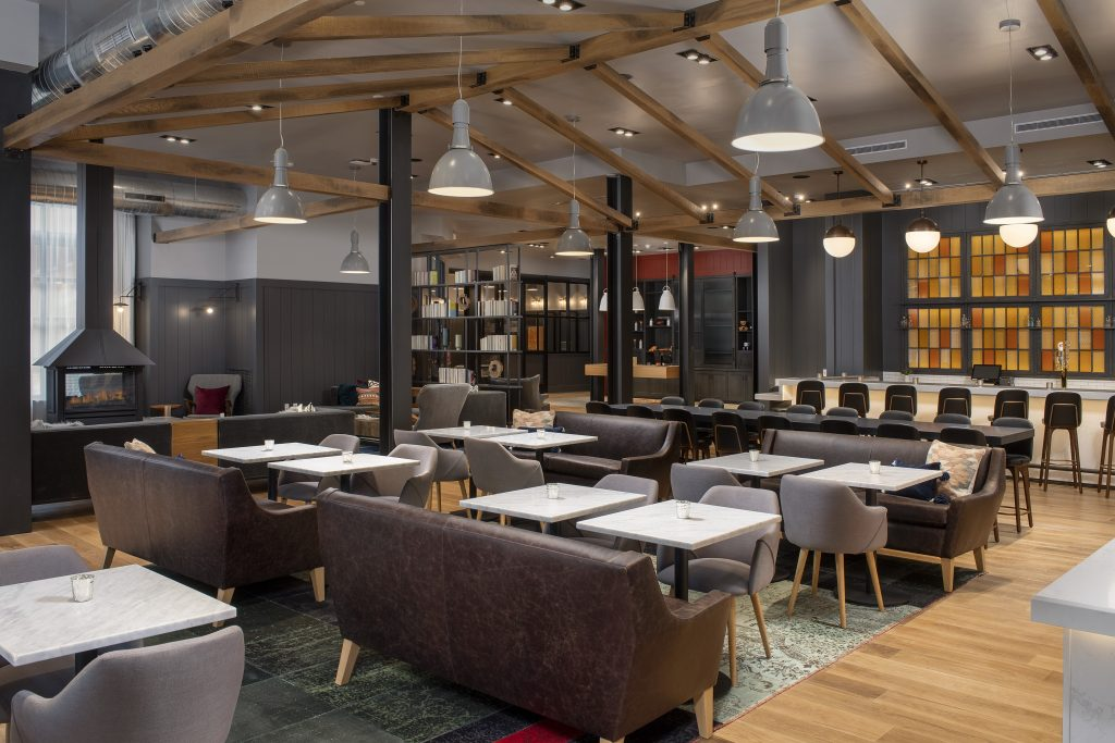 Canopy by Marriott Ithaca New York Lobby bar seating