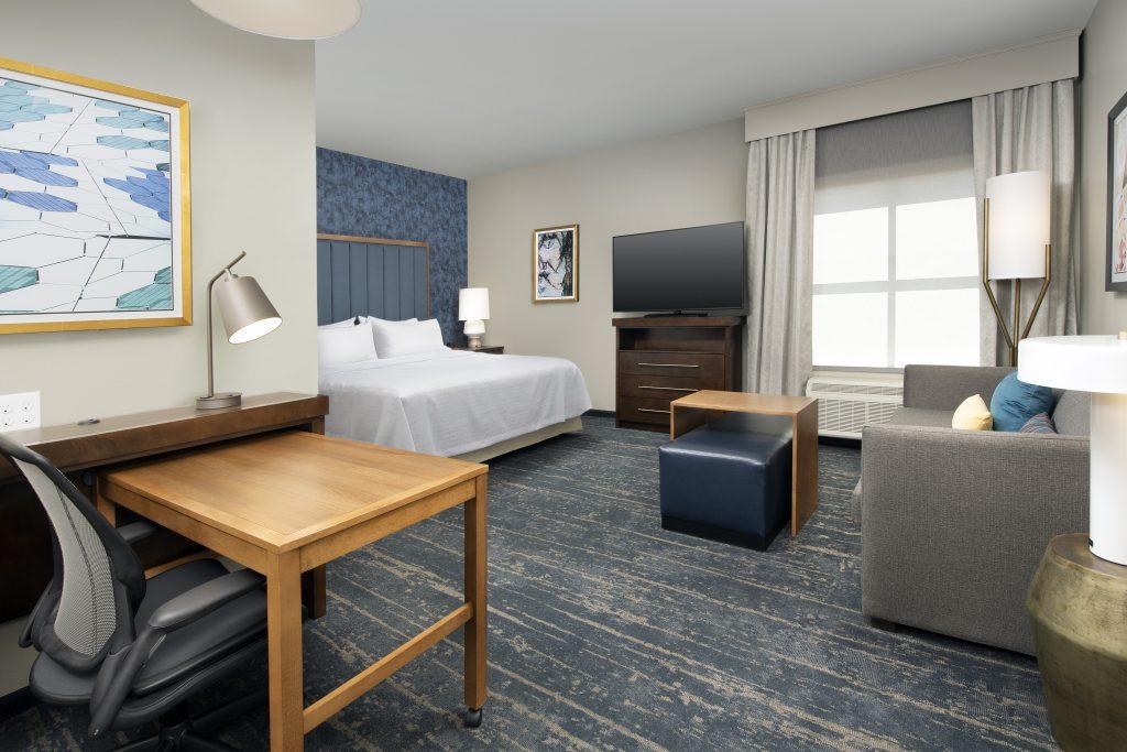 Homewood Suites Denver CO King Guest room