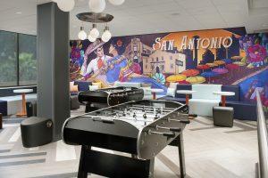 Tru by Hilton San Antonio TX lobby