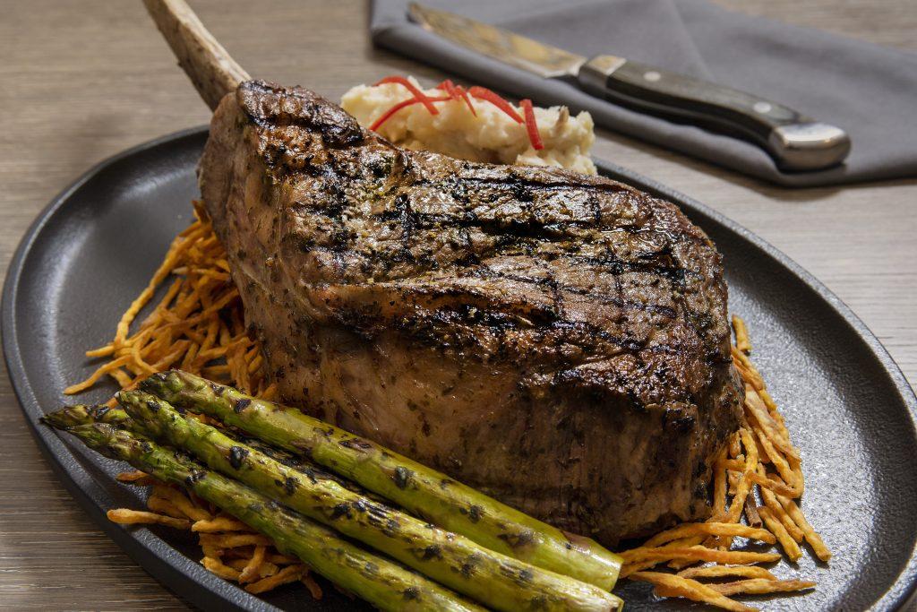 Westin Dallas/Fort Worth Steak dinner