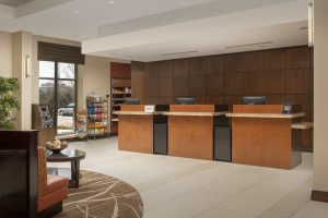 DoubleTree by Hilton Front Desk Sterling Virginia Front desk