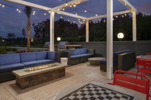 Tru by Hilton Lake City FL Firepit