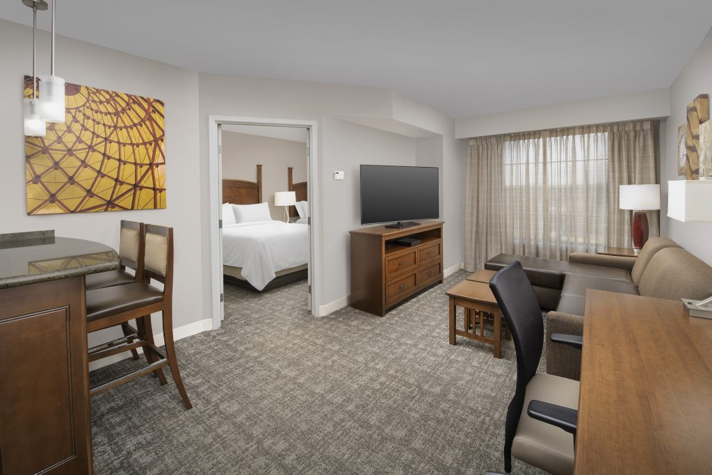 Staybridge Suites Columbia SC King One bedroom guest room