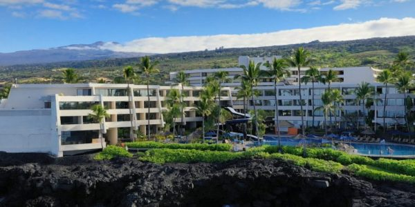 Exterior Drone photo of Sheraton Kona Hawaii