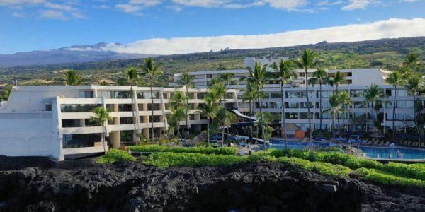 Exterior Drone photo of Sheraton Kona Hawaii